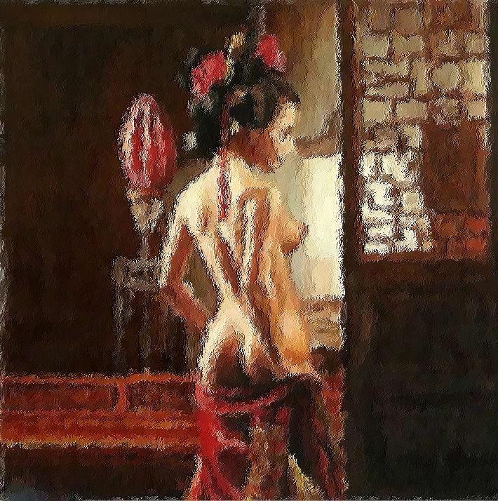 фото современный гейш голые