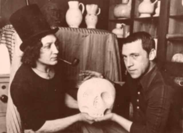 Владимир Высоцкий и Михаил Шемякин