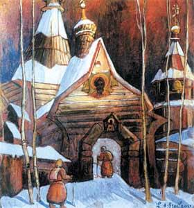 В эмиграции начинаешь любить Россию особенно остро.Л.Браиловский. Северный монастырь. Российский фонд культуры